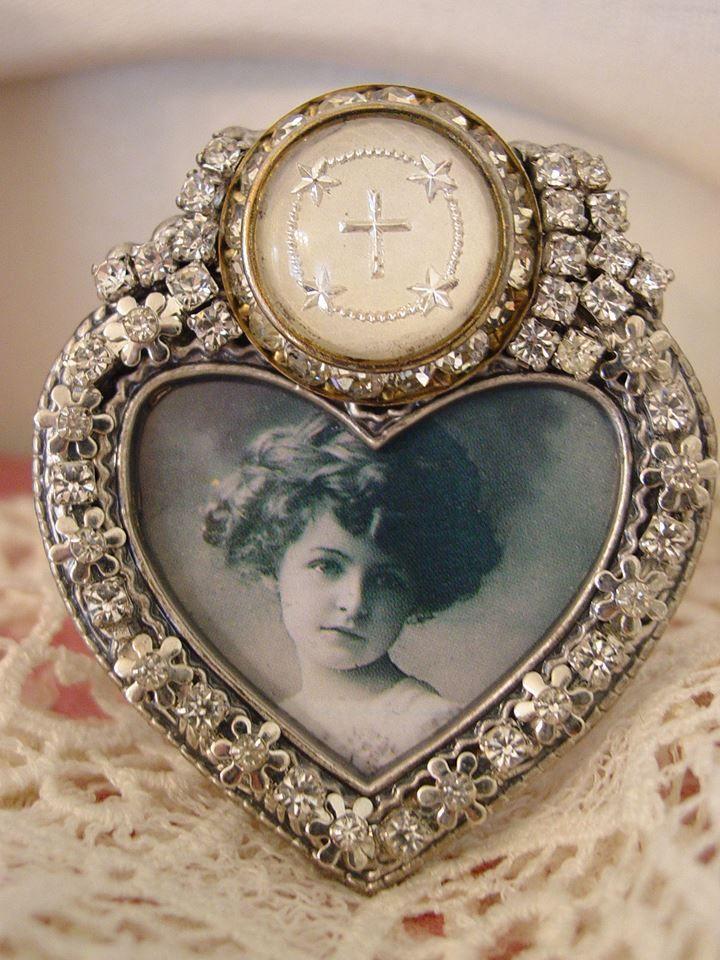 Jeweled Frames By Vintagedragonfly Mosaics Jeweled