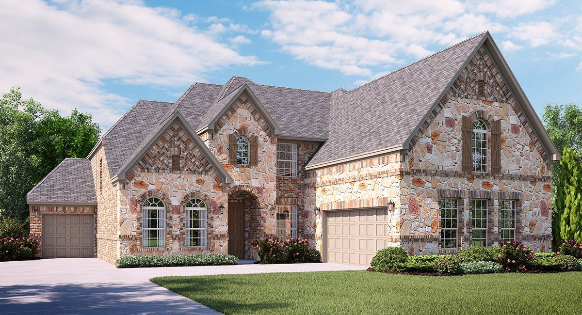 dublin new home plan in highlands at trophy club 8500 series by rh pinterest com