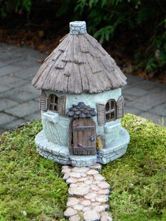 Accessories Miniature Dollhouse FAIRY GARDEN Micro Mini Gables Cottage