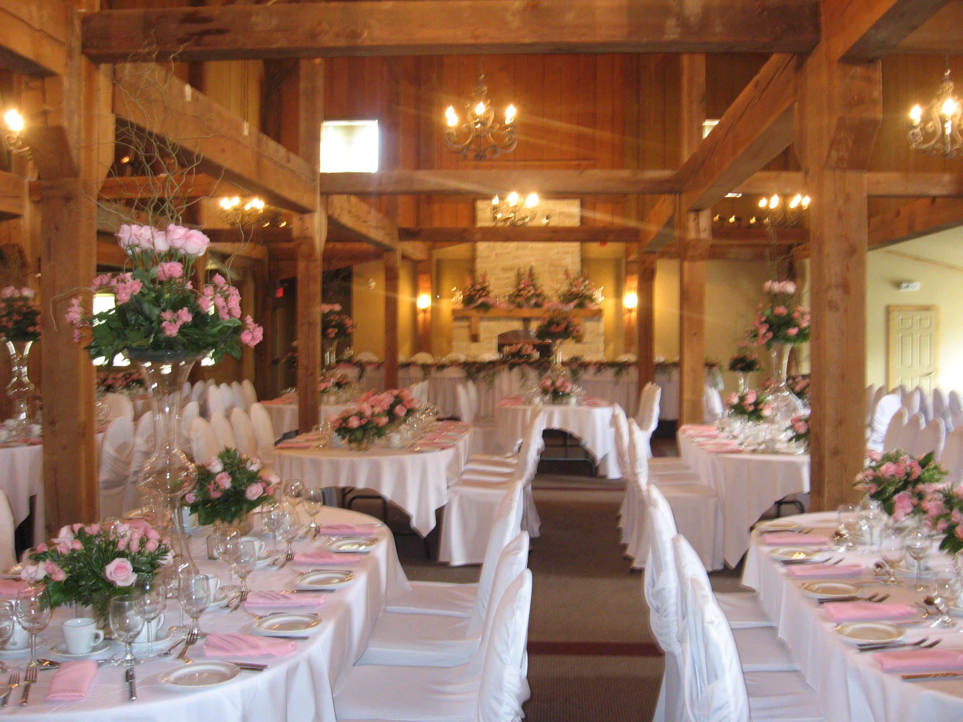 Wedding at Bellamere Winery wedding wedding reception