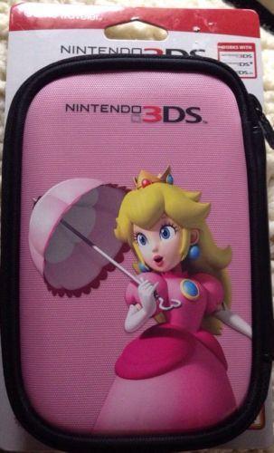 Pink Princess Peach Nintendo Ds Lite Dsi 3ds Game Case