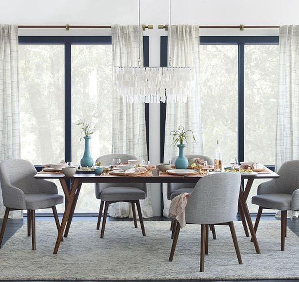 49 stunning modern dining room table d cor ideas dining room rh pinterest com