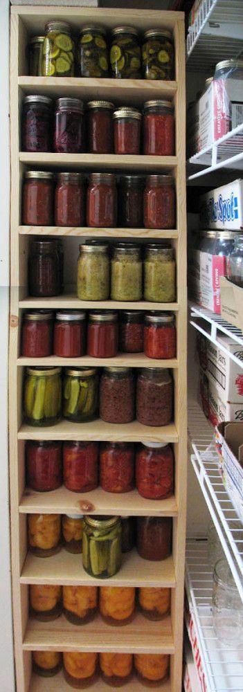 new shelves for canned goods projects shelves building shelves rh pinterest com
