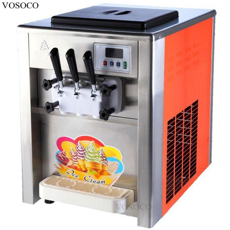 vosoco ice cream machine desktop soft ice cream cone machine 1800w rh pinterest fr