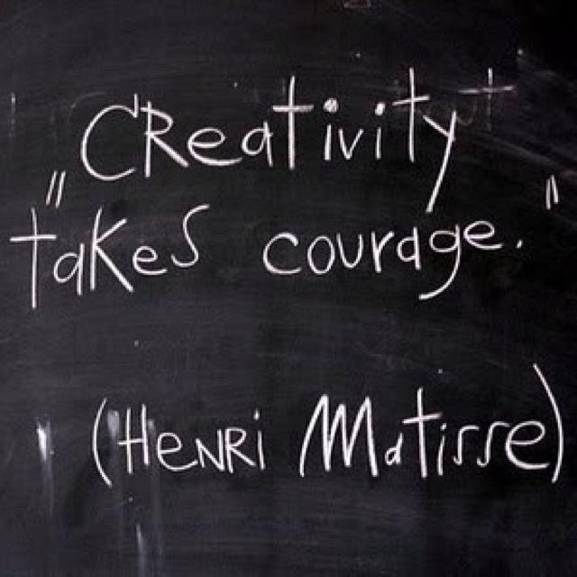 Henri Matisse Courage quotes