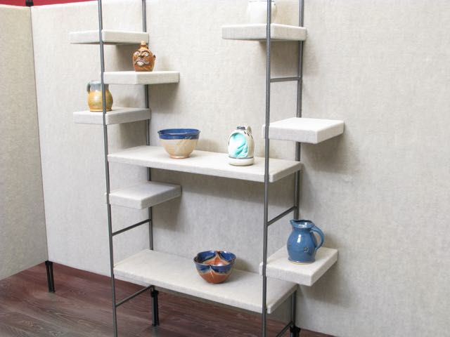 pro panels shelving systems are sturdy collapsible and 3d art rh pinterest com