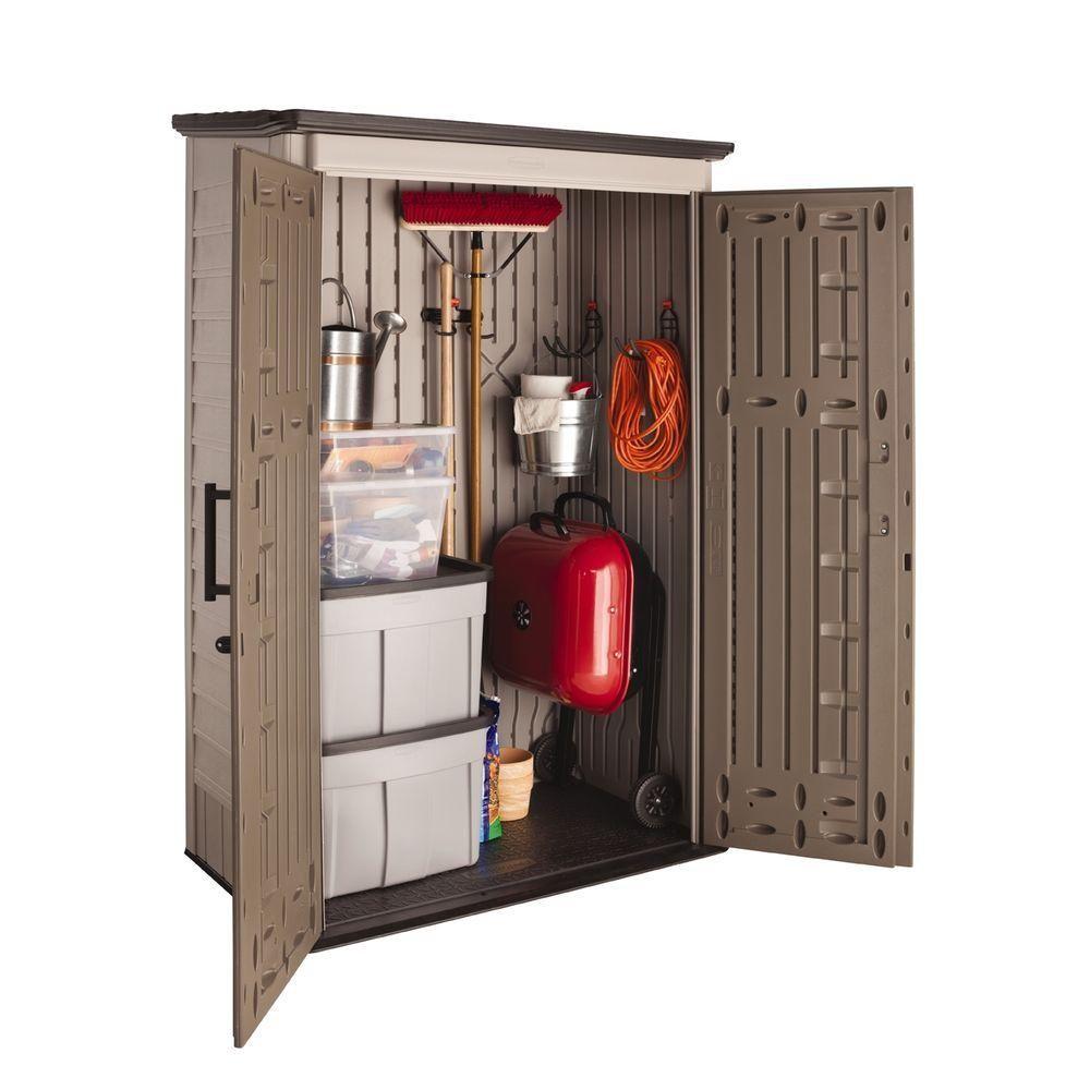 l org amazoncom w closet storage cabinet x d rubbermaid double door