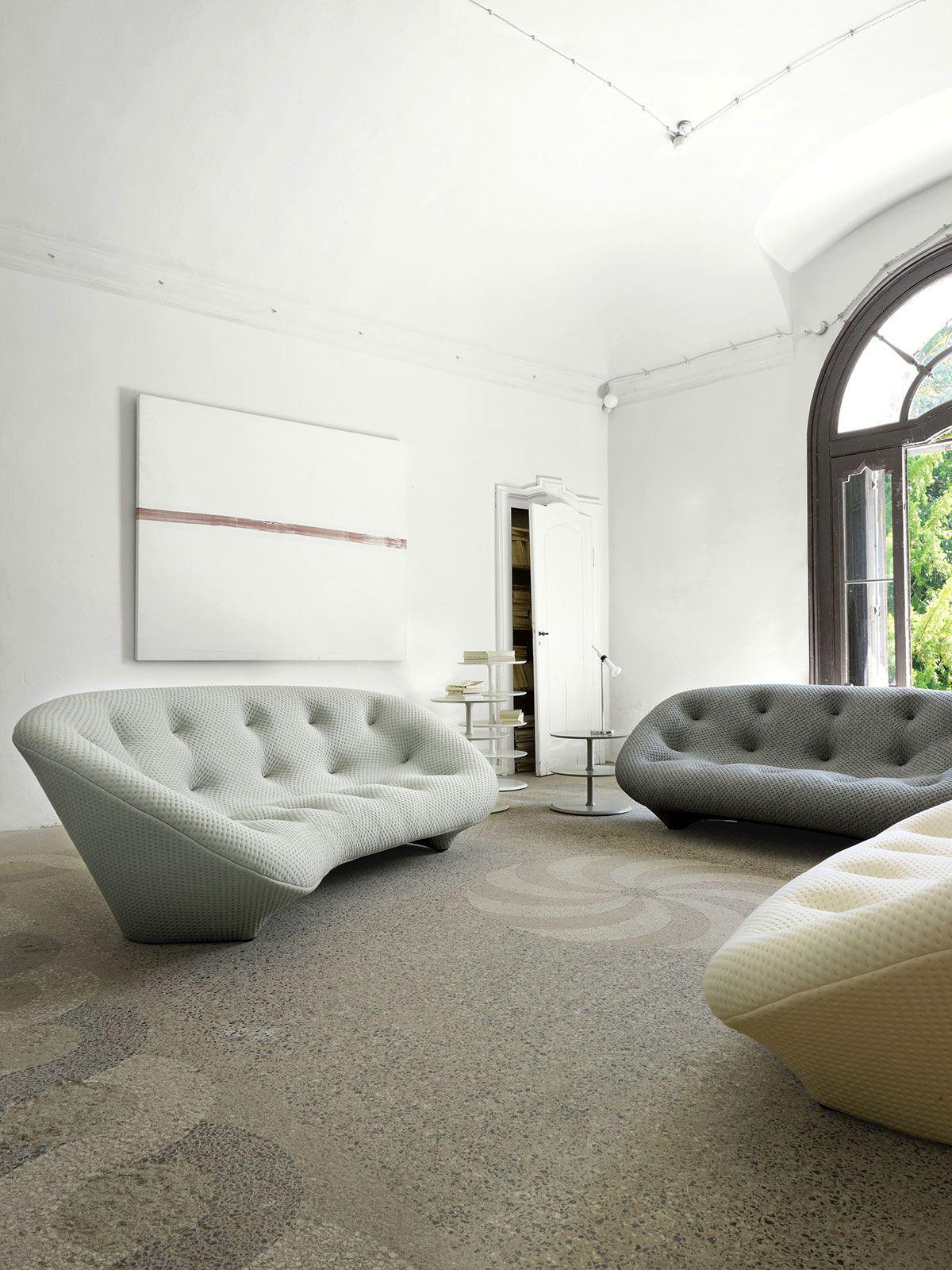ploum sofa set designed by r e bouroullec for ligne roset rh pinterest com