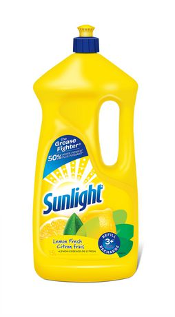 Sunlight Laundry Sunlight Lemon Fresh Liquid Detergent Liquid