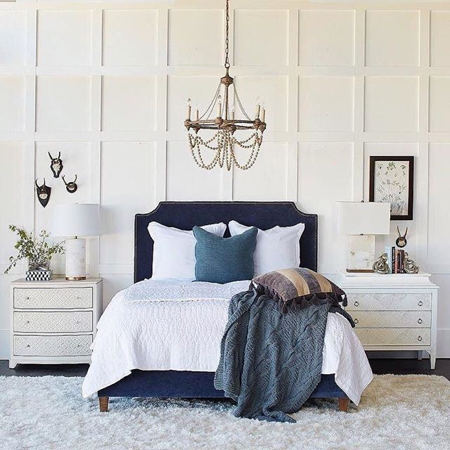 bedroom inspiration i have a thing for blue and white eyecandy rh pinterest com