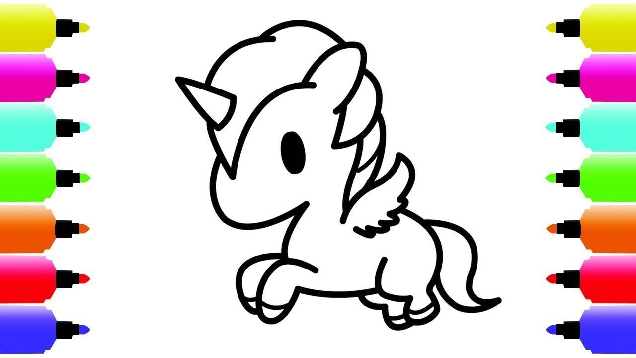 How To Draw Unicorn Coloring Pages For Kids Unicorn Coloring Pages Dra Unicorn Coloring Pages Coloring Pages For Kids Unicorn Drawing