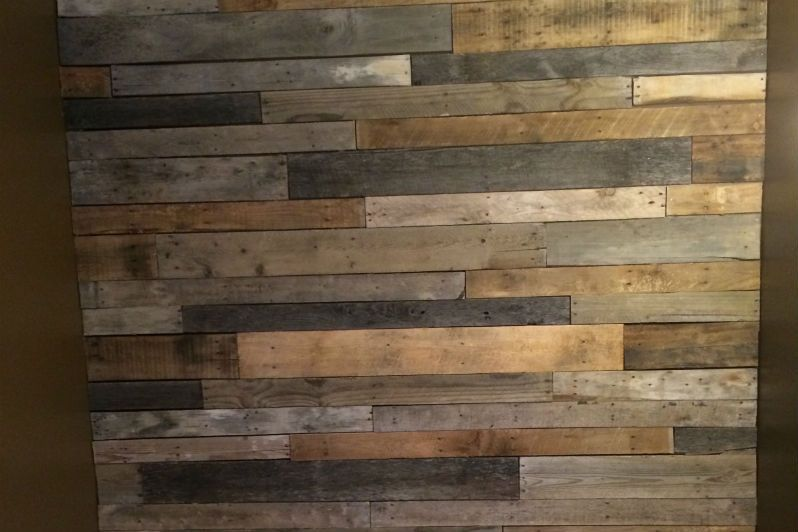 Pallet Wood Feature Wall - How to Build | For the Home ...