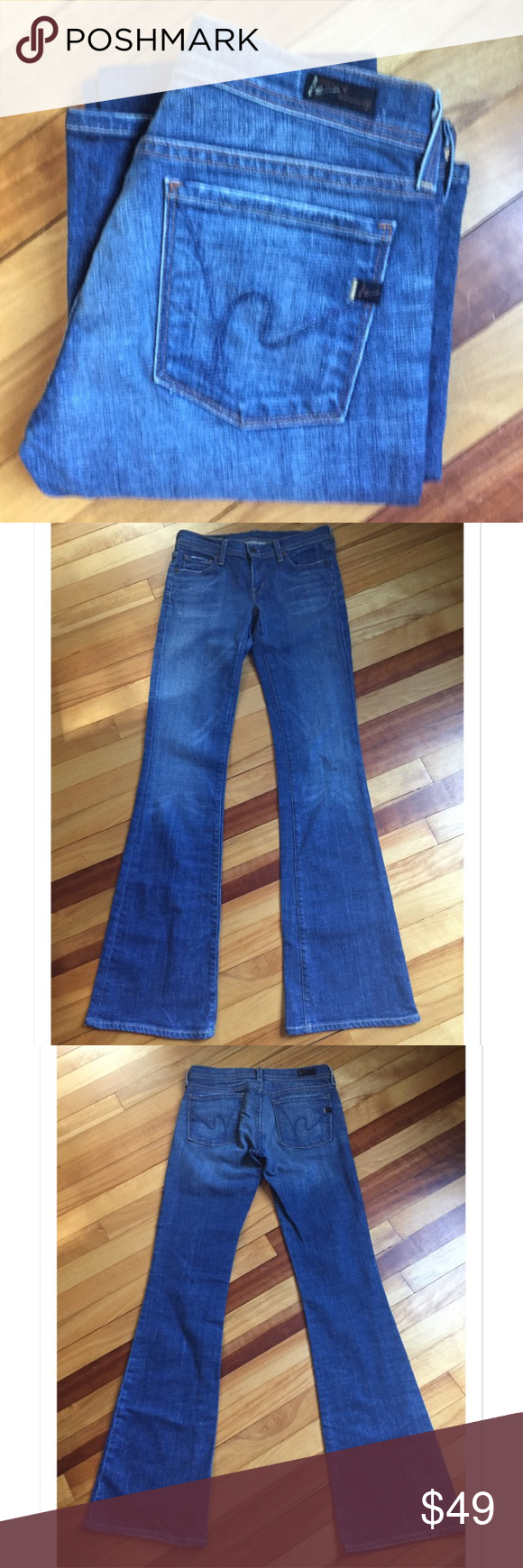 Selling this Citizens of Humanity Ingrid Low Waist Flare Jeans on Poshmark! My username is: davias_closet. #shopmycloset #poshmark #fashion #shopping #style #forsale #Citizens of Humanity #Denim