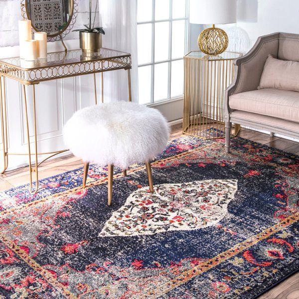 alessandra navy area rug ev dekorasyon area rugs navy rug rugs rh pinterest com
