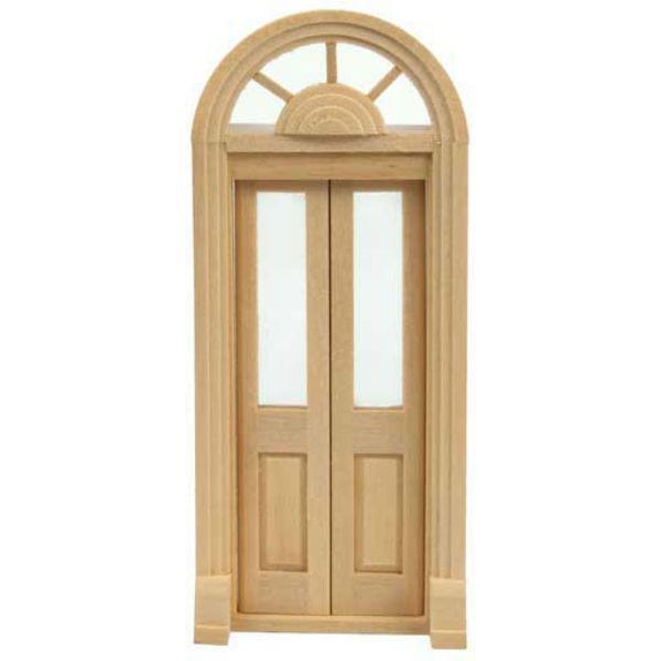 split dollhouse miniature palladian door door exterior entry rh pinterest com