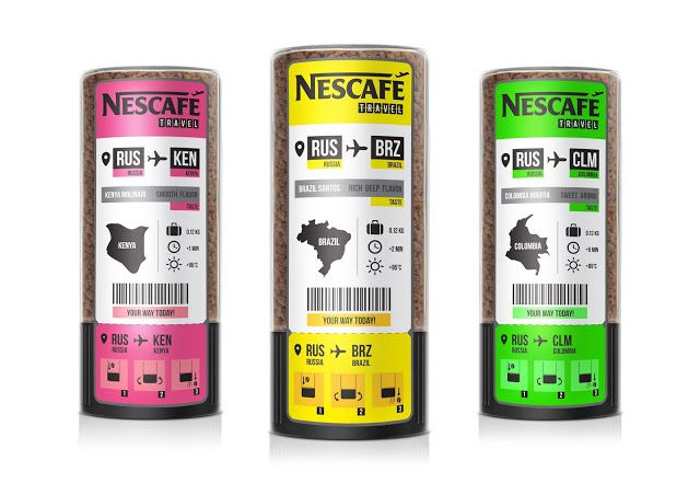 Nescafe Travel (Concept) on Packaging of the World - Creative Package Design Gallery