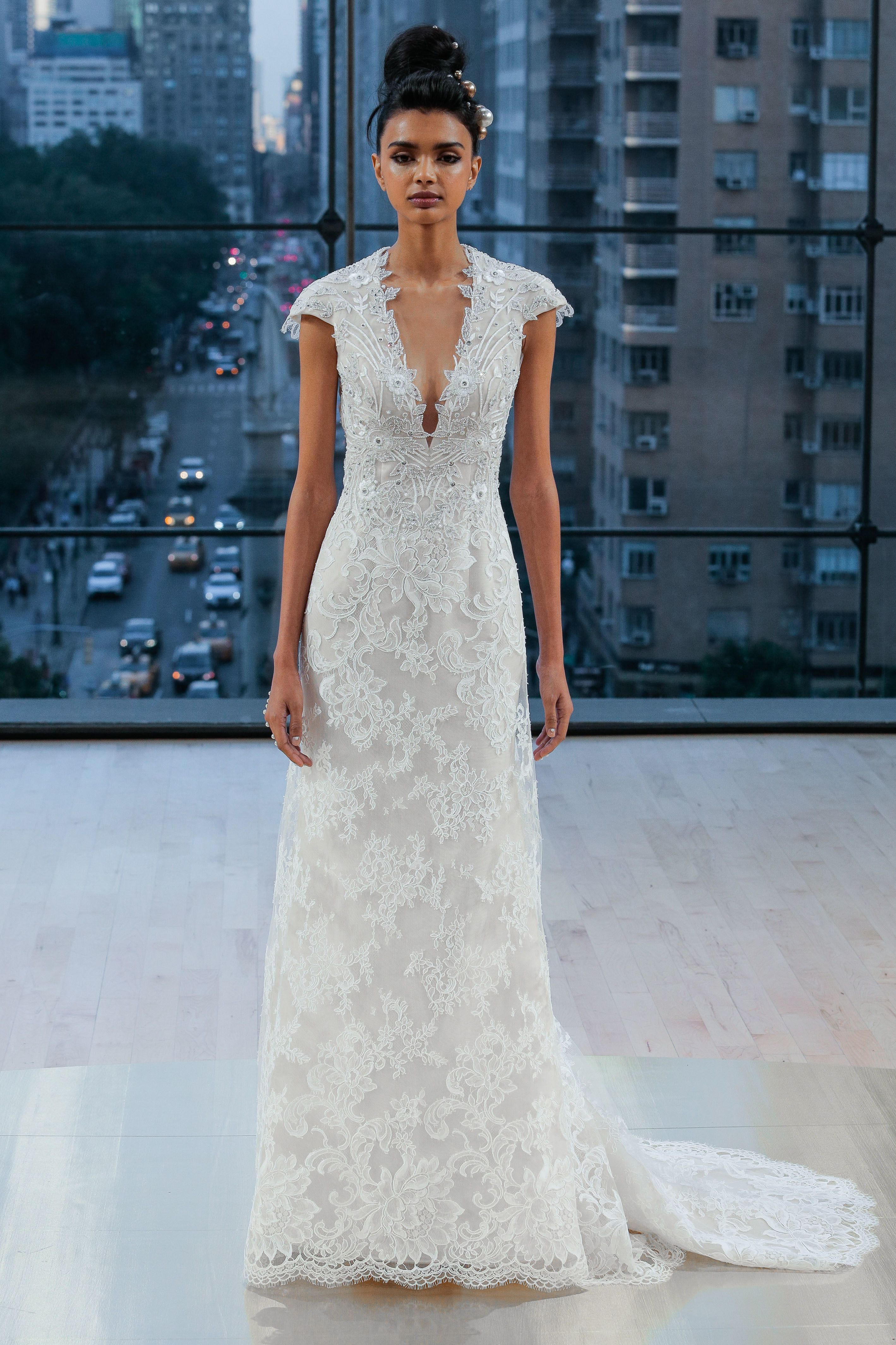 Ines di santous nycinspired fall bridal week collection is as