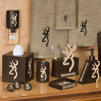 Camo Bathroom Sets | Browning Bedding Bath Accessories Set On Wanelo