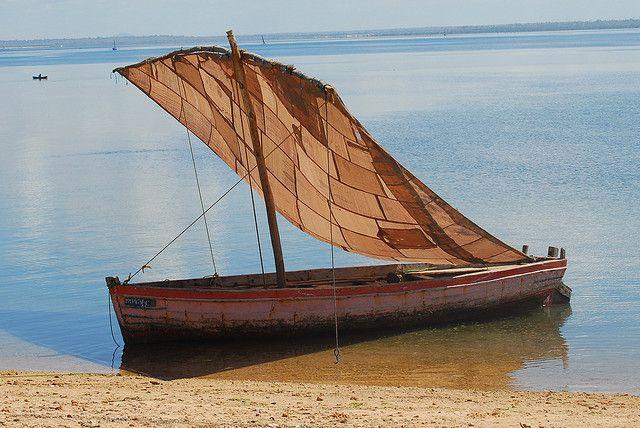 Cross into Mozambique via Lake Malawi and  Ilala