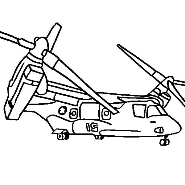 Helicopter V 22 Osprey Coloring Pages Coloring Sun Coloring Pages Transformers Coloring Pages Color