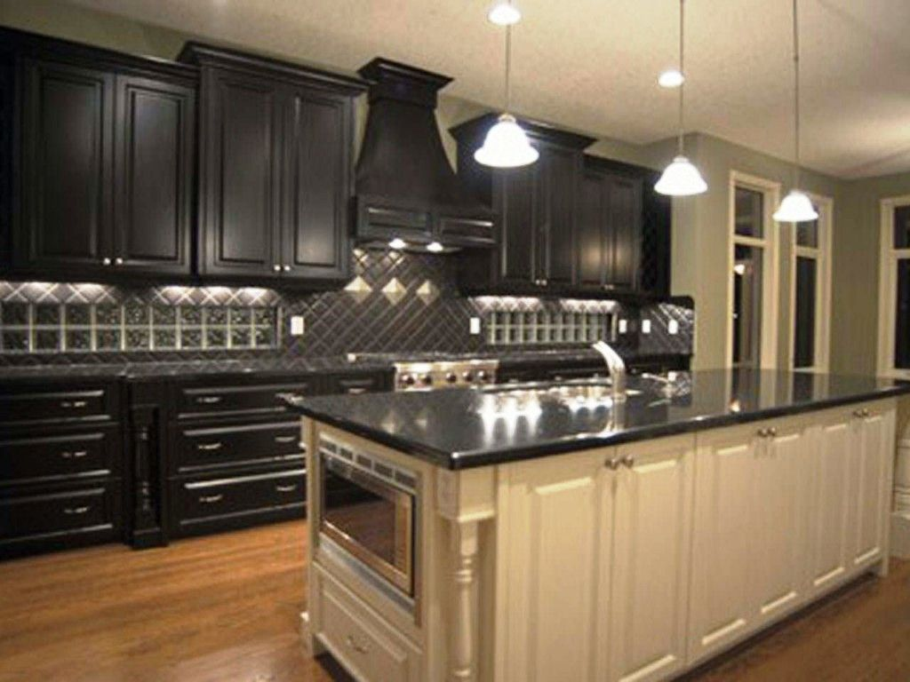 Black Kitchen Cabinets Photo Gallery Article
