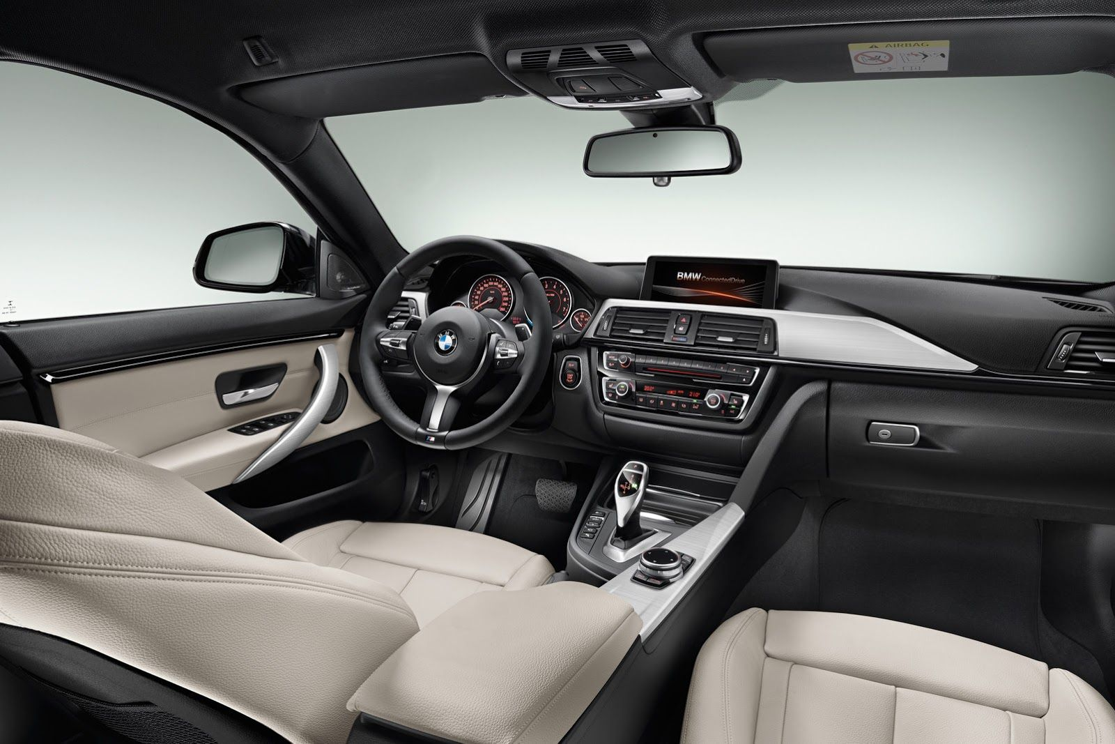 Bmw 4 Series Gran Coupe White Interior With Images Bmw 4