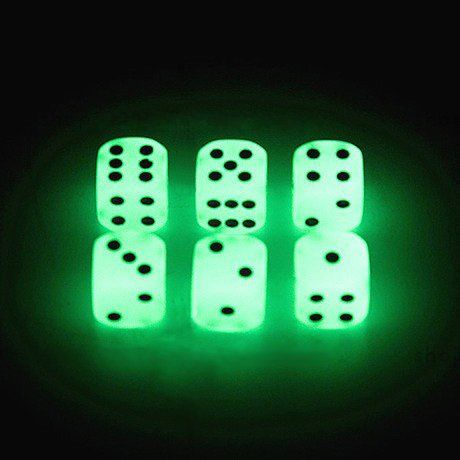 SWEESE Set of 20 Luminous Dice