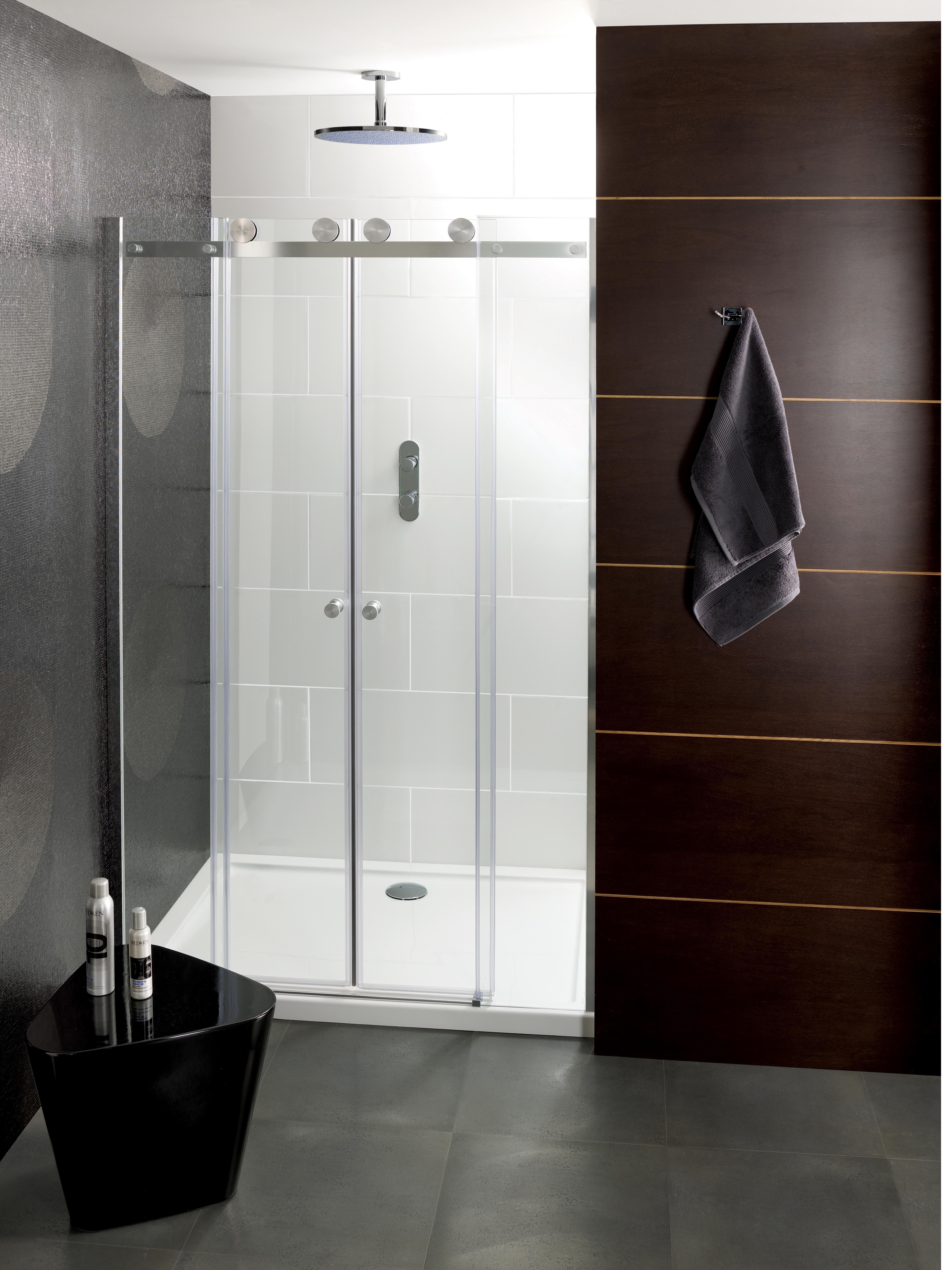 Central Double Sided Bathroom Shower Enclosure from Crosswater ...