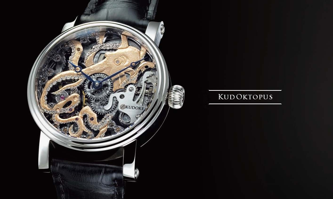 KudOktopus - KUDOKE - The Master of Skeleton Watches - Independent Watchmaker - Handmade in Germany