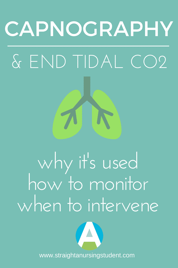 Why you should care about capnography and ETCO2 - Straight A Nursing