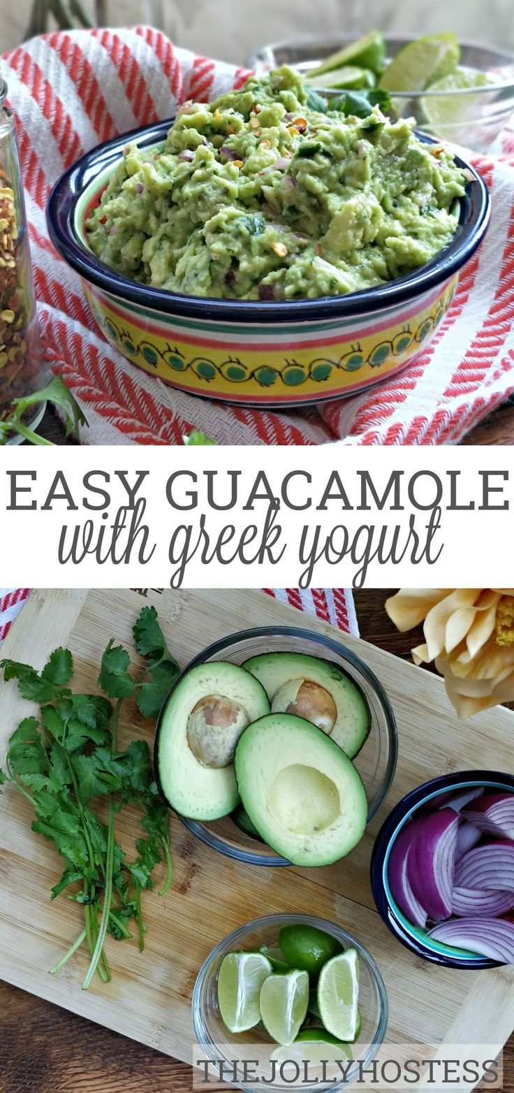 Traditional Guacamole with Cilantro, Lime Juice and Garlic Traditional Guacamole is the best recipe