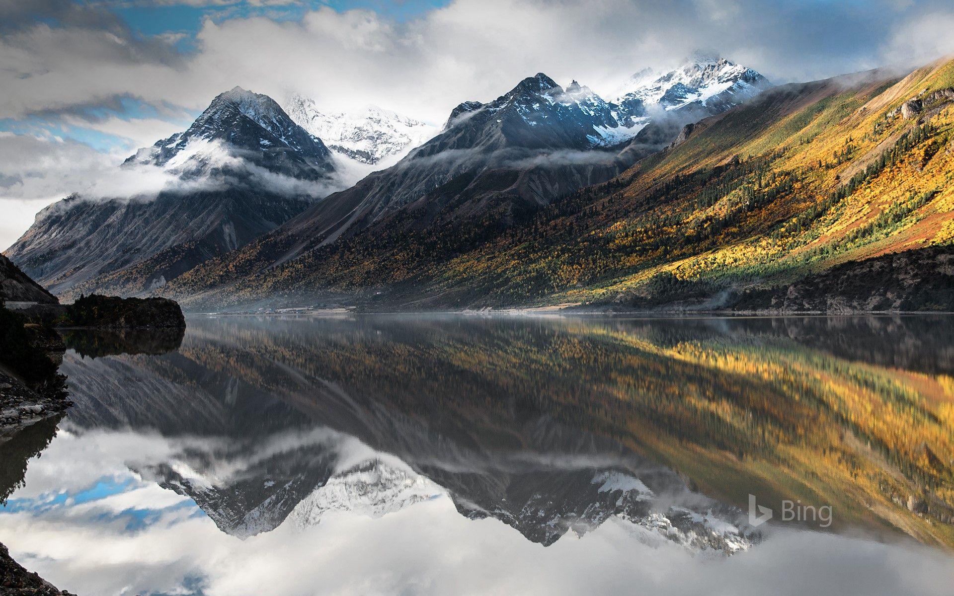 Bing Daily Picture For July 01 Ranwu Lake Near Rawu Tibet Autonomous Region China Scenic Lakes Tibet Lake
