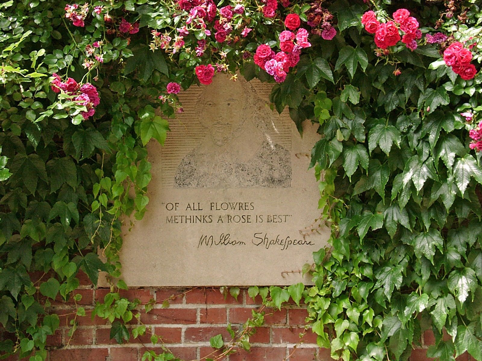 International #Rose #Garden #Shakespeare #Quote | Theater Places ...