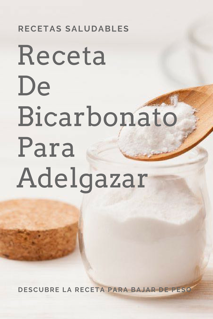 crema de bicarbonato para adelgazar