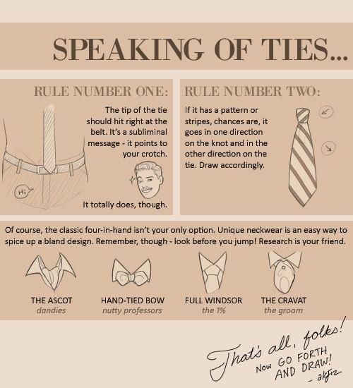 Tie Information.