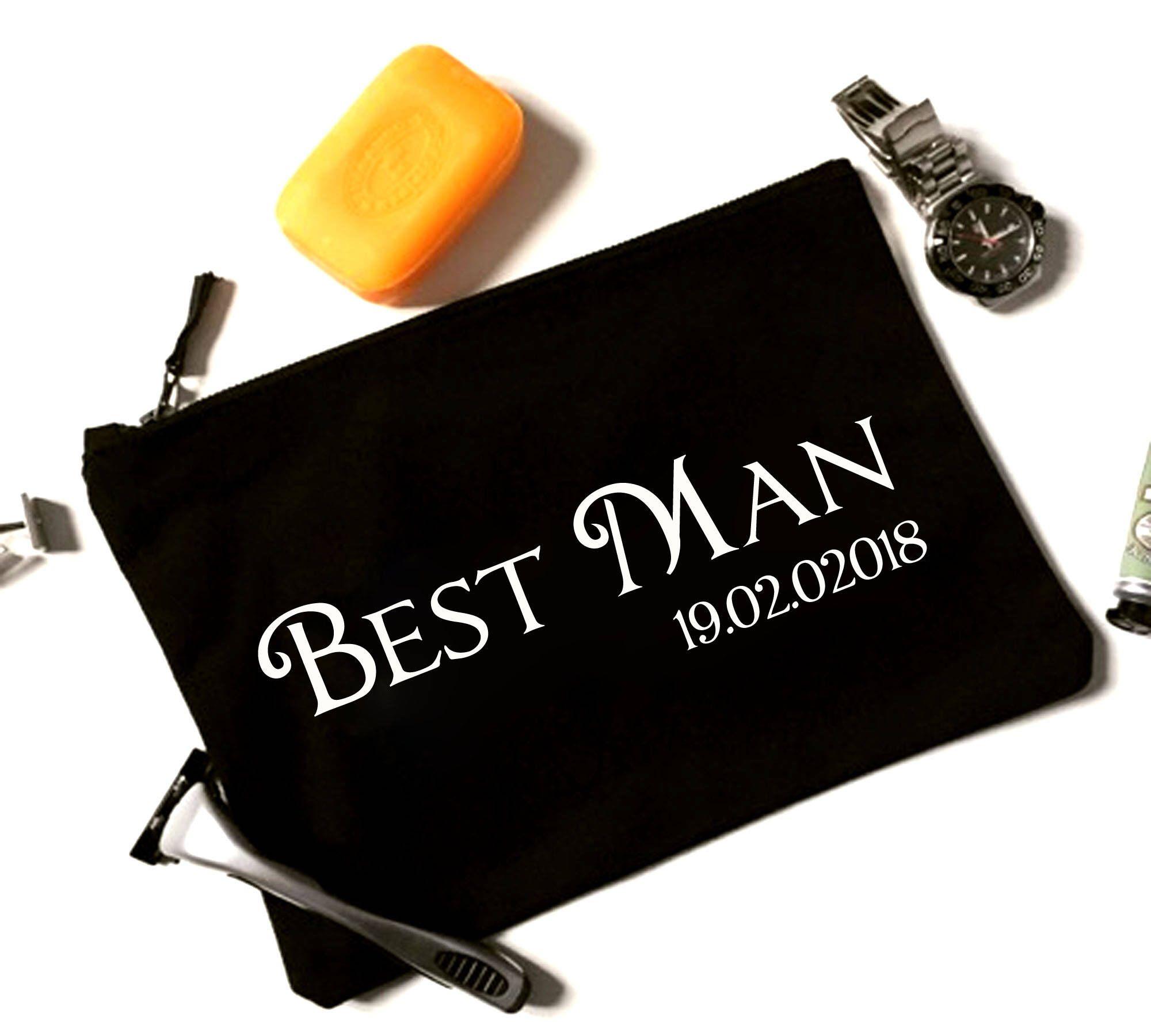 Wedding Gift From Groomsmen: Groomsmen Bag, Best Man Thank You Gift, Groomsmen Present
