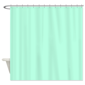 Solid Mint Green Shower Curtain By The Shower Curtain Mint Green