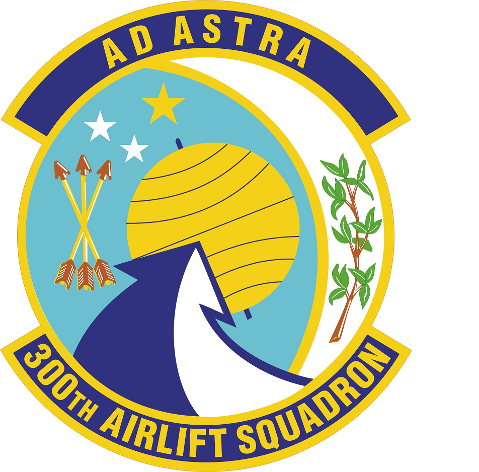 300th Airlift Squadron Wikipedia Air force patches, C