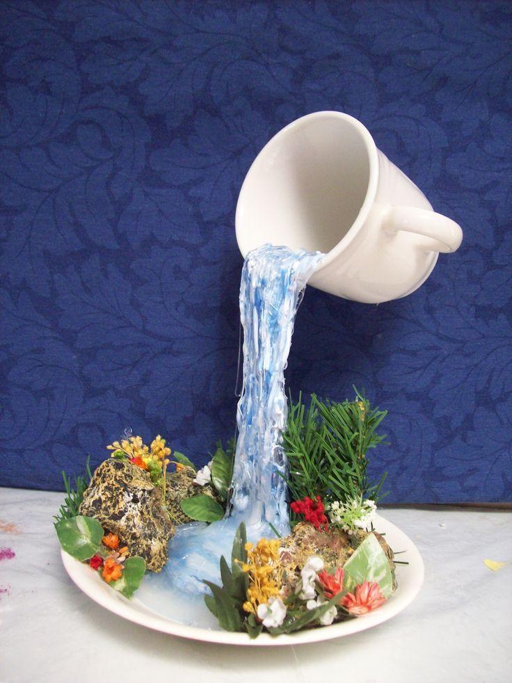 Wasserfall in einer Tasse? - #einer #schwebend #Ta... - #einer #schwebend #ta #tasse #Wasserfall #teacups