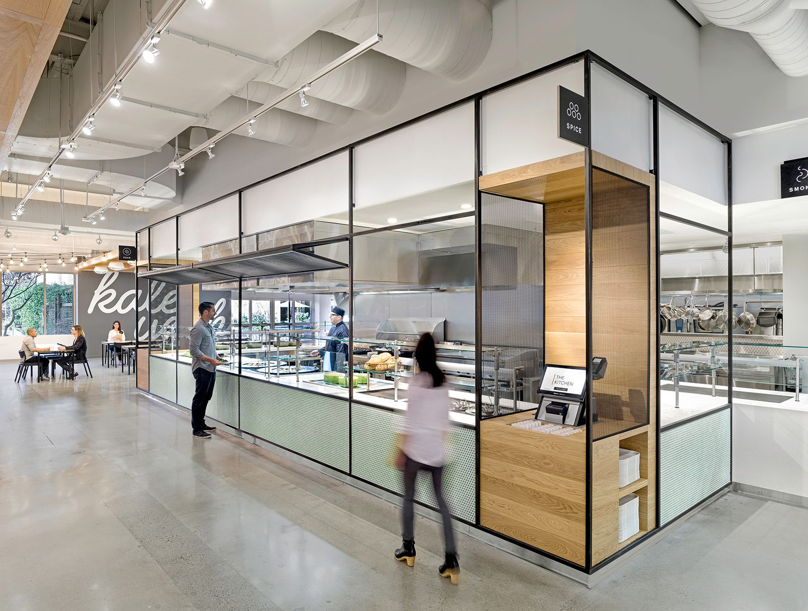 Office Tour: eBay Office Cafeteria  San Jose | TECH ...