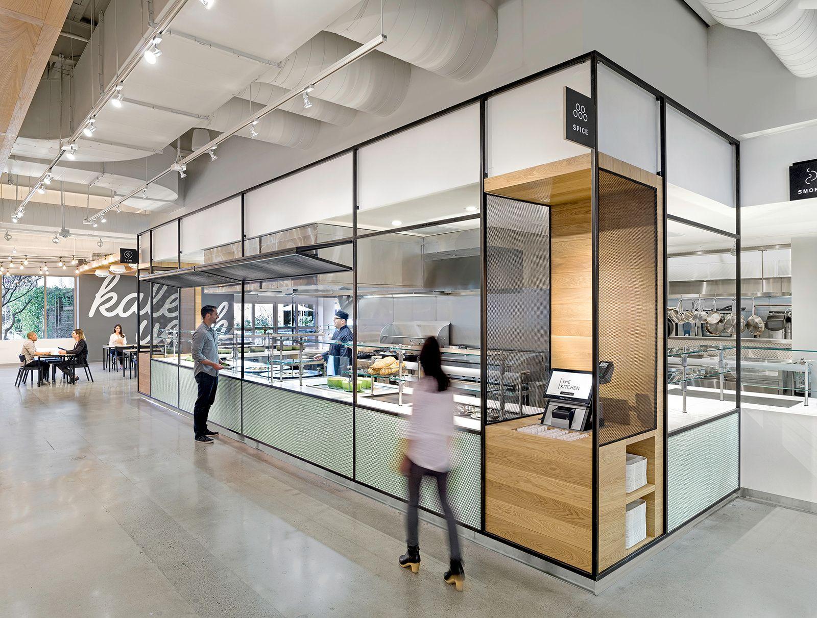 Office Tour: eBay Office Cafeteria  San Jose   TECH ...