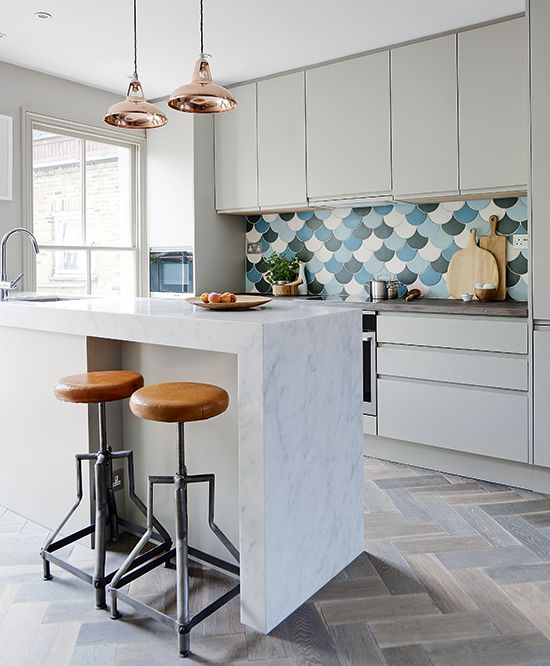 Paris Caberet Tile Splashback In Mahoney Kitchen Part 78