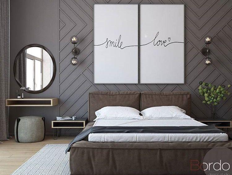 Wall and head board master bedroom slaapkamer