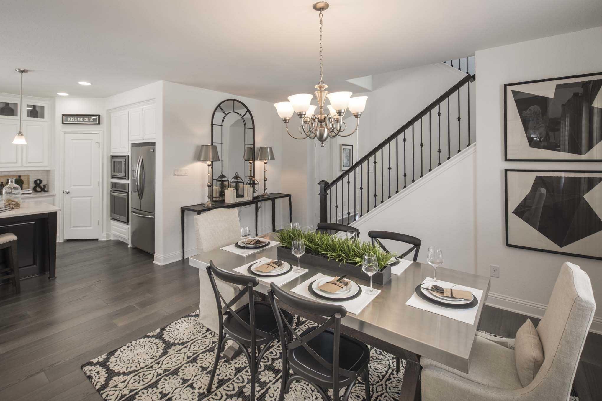highland homes plan 306 model home in dallas fort worth texas rh pinterest com