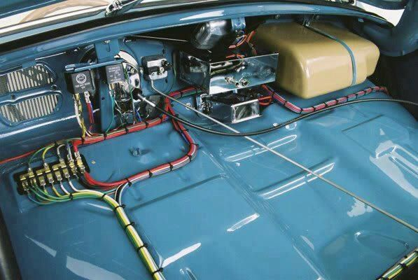 super clean VW wiring VW Pinterest Discover more