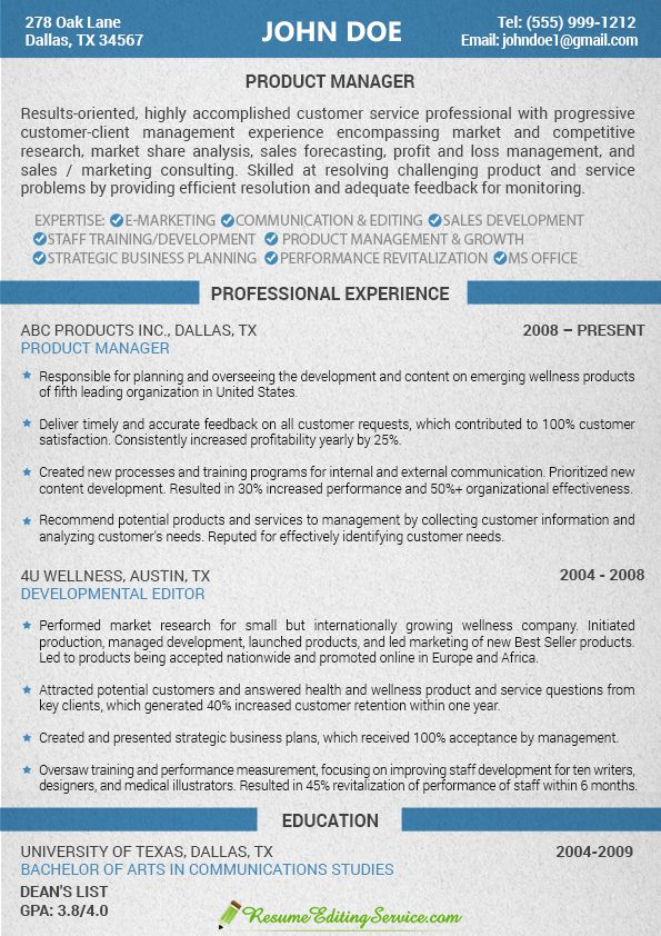 Customer service resume sample Resume Editing Service - customer service resume sample