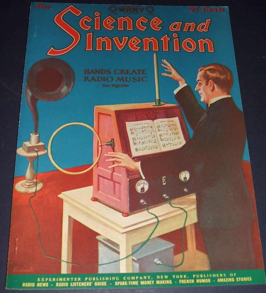 Vintage Issue Of Science And Invention Magazine For December