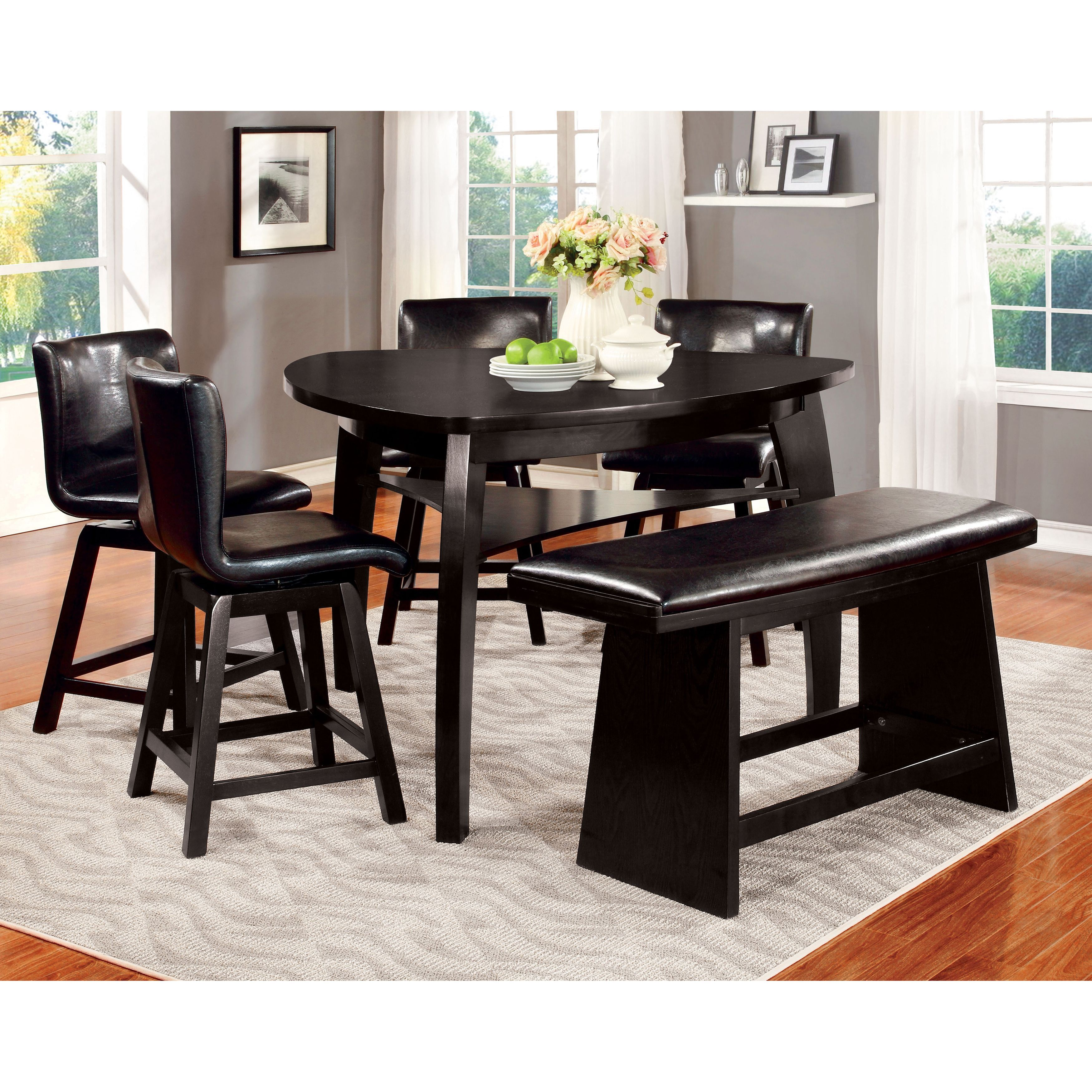 Triangle Counter Height Table Barstools Dining Room Table Dining Room Table Decor Patio Dining Table