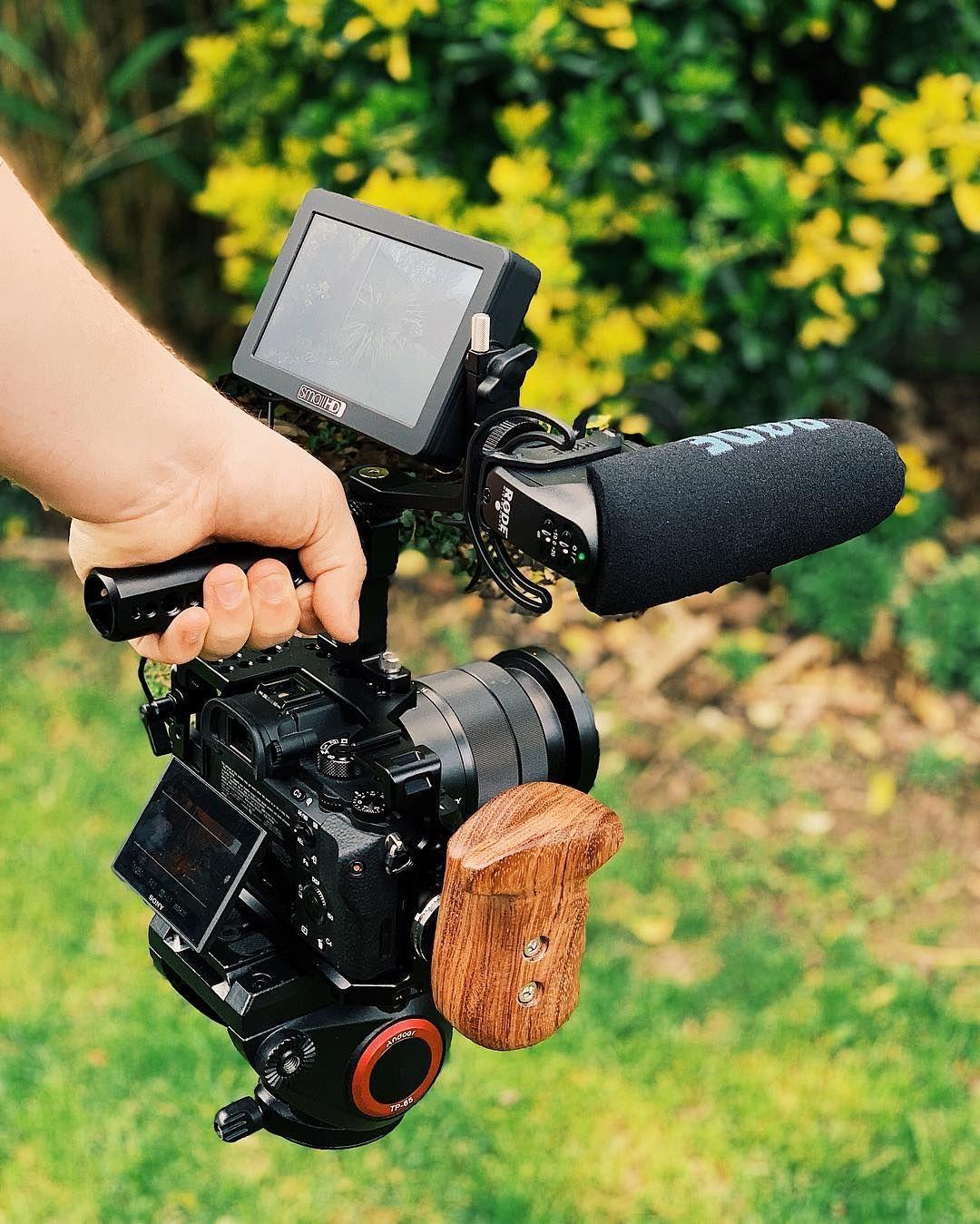 My Run & Gun professional camera set up