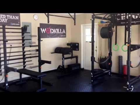 76aff0a53e6 Rogue Garage Gym - YouTube Gym Youtube